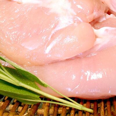 【冷凍】紀州うめどりむね肉2kg