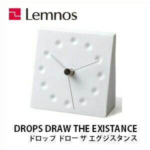 【ポイント5倍】Lemnos レムノス DROPS DRAW THE EXISTANCE  KC10-12 /置き時計/塚本カナエ/磁器