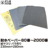 耐水ペーパー 各種 230mm×280mm DCCS-180-2000 SANKYO-FUJI STAR 三共理化学 ネコポス非対応 耐水ペーパー 磨く 削る 紙