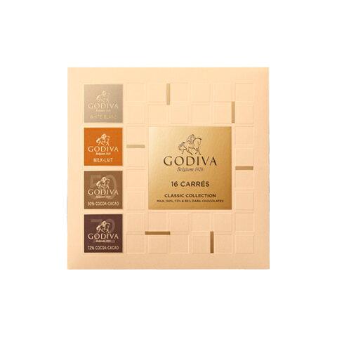 母の日 ギフト チョコレート ゴディバ (GODIVA) カレ アソート 16枚入