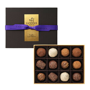 ギフト お返し お祝い チョコレート スイーツ ゴディバ(GODIVA)レジェンデール トリュフ(12粒入)