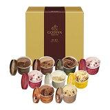 スイーツ 中元 プレゼント ギフト お返し お祝い チョコレート 【送料込】ゴディバ (GODIVA) アイスプレゼント ギフト カップアイス 9個入