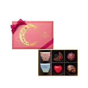 バレンタイン バレンタインチョコレート プレゼント ギフト お返し お祝い チョコレート スイーツ ゴディバ (GODIVA) きらめく想い アソートメント(6粒入)