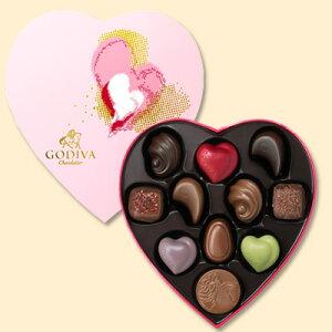 ゴディバ(GODIVA)【期間・数量限定】2011年バレンタインコレクションデュオゴディバ ハートボ...