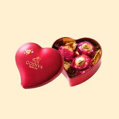 ゴディバ(GODIVA)【期間・数量限定】2015年バレンタインコレクションゴディバ (GODIVA) ラッピング ミニハート缶 5粒