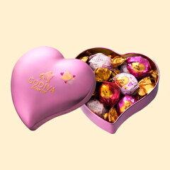 ゴディバ(GODIVA)【期間・数量限定】2015年バレンタインコレクションゴディバ (GODIVA) ラッピング ハート缶 10粒