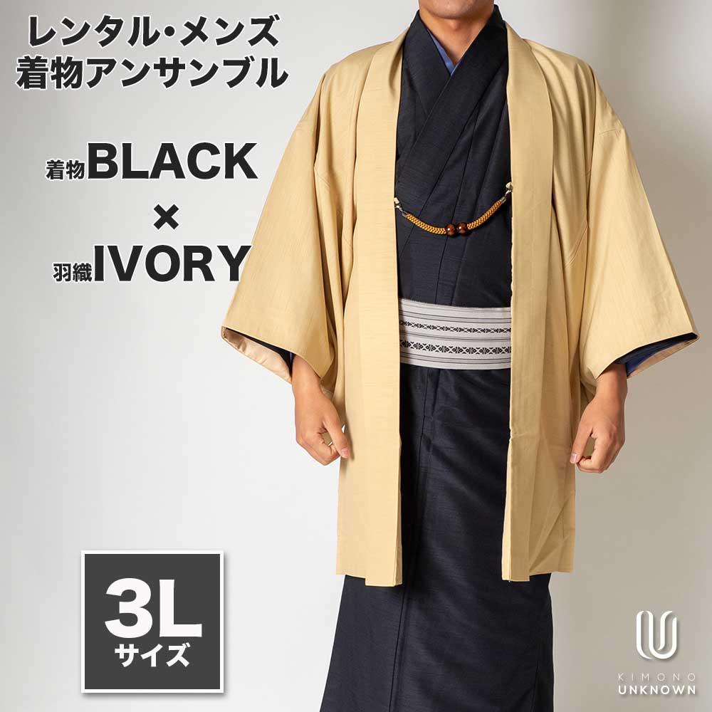 和服, 着物セット 180cm190cm 3L