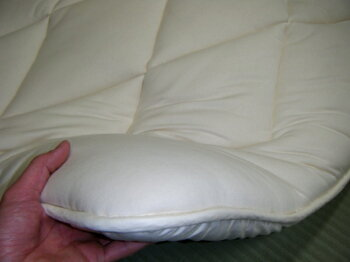 羊毛布団の最高峰スリーミックスウール羊毛敷き布団シングル100×210cm3,6kg羊毛布団ウール布団羊毛敷きパッドウール敷きパッドウールベッドパッド羊毛しきふとんウールベッドバットウールパッド英国羊毛
