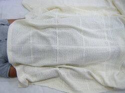 カラミ織りメッシュケットシングル150×200cm日本製シングルからみ織りケットメッシュケットメッシュ織りシングルガーゼケットタオルケット夏用ケット肌布団夏布団夏の掛け布団キルトケット