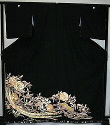 【留袖】レンタル 13号迄 H105cm迄 黒留袖 フルセットレンタル 往復送料無料 普通サイズ S M L LL 7号 9号 11号 13号 ヒップ105cm迄 留袖レンタル 貸衣装 正絹 結婚式 高級品 母親 服装 とめそで rental 大阪 和泉市 堺市 岸和田市 泉大津市 高石市 貝塚市【rt124】