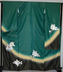 【レンタル】振袖レンタル【青・青紫・緑系】【RS793】標準/L寸/7号/9号/11号/13号