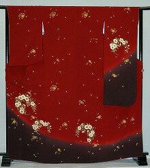 【レンタル】振袖レンタル【赤・ピンク・赤紫系】【RS804】標準/L寸/7号/9号/11号/13号