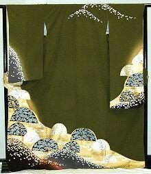 【レンタル】振袖レンタル【青・青紫・緑系】【RF805】標準/L寸/7号/9号/11号/13号/秋のキャンペーン