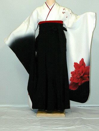 【レンタル】振袖、袴(はかま)レンタル【白・薄色系】【HF915】標準/L寸/7号/9号/11号/13号/秋のキャンペーン
