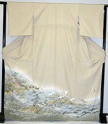 it413 light greenish brown rental colored formal kimono autumn campaign
