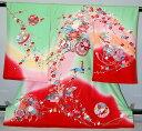 【レンタル】【貸衣裳】 RU56 女児初着 【貸衣装】 送料無料【smtb-k】