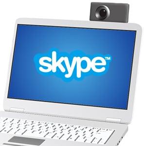 法人/Skype設定