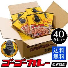 ゴーゴーカレーレトルトカレー20箱40食セット