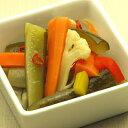 さっぱりとした酸味と野菜のおいしいさが嬉しい。贅沢なピクルス