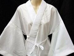 品質が良く、評判が良い《りんず白半襦袢》半衿付:L寸「日本製」