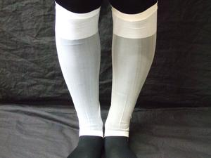 "Japanese stockings Leona (white and color) ""made in Japan"""