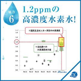水素水サーバールルド(Lourdes)高濃度の水素水がつくれる!水素水生成器ルルド&超豪華特典プレゼント(カートリッジ×3個+真空保存容器+水素濃度判定試薬+水素の事がよくわかる冊子)