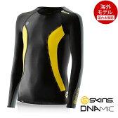 SKINS(スキンズ) DNAmic キッズ(ユース) コンプレッション ロングスリーブ(ジュニア用長袖インナーシャツ)【海外モデル】