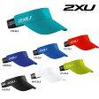2XU(ツー・タイムズ・ユー) ユニセックス パフォーマンス バイザー (ランニング用サンバイザー)