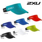 2XU(ツー・タイムズ・ユー)ユニセックスパフォーマンスバイザー(ランニング用サンバイザー)