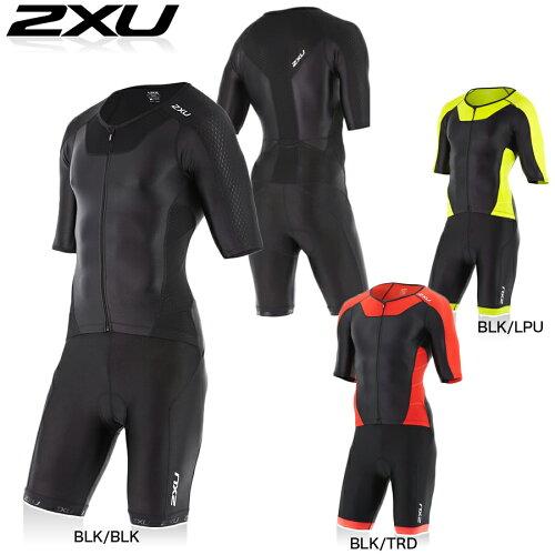 2XU エックスベント(X-VENT) フルジップ トライスーツ(トライアスロン用スーツ)