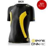 【海外在庫商品】SKINS(スキンズ) DNAmic キッズ(ユース) コンプレッション ショートスリーブ(ジュニア用半袖インナーシャツ)【海外モデル】