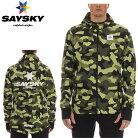 SAYSKY(セイスカイ)ユニセックスWELLINGTONJACKETウェリントンフード付ジャケット(ランニングジャケット)