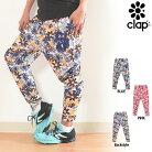CLAP(クラップ)エフォートレスパンツフラワー(M-FLOWER)