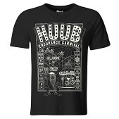 HUUB(フーブ)FAIRGROUNDフェアグラウンドTシャツ(ランニング用シャツ)