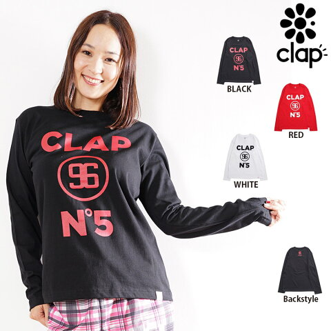 CLAP(クラップ) NO,5 LONG SLEEVE Tee(ロングTシャツ)