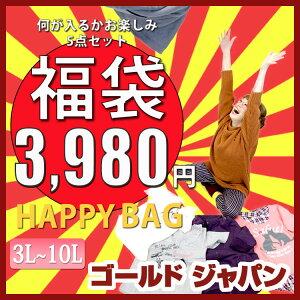 ★豪華!福袋★5点セット♪3980円!大きいサイズ レディース LLサイズ 13号 XL 3L…