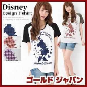 トップス Tシャツ 半袖 キャラクター 半袖Tシャツ ディズニー ミニー 大きめ 大きいサイズ レデ...