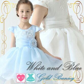 長連衣裙領口心湖的可愛的孩子們的衣服演示文稿套件和西珍珠裝飾 a 字裙,孩子的衣服、 兒童服飾孩子衣服兒童童裝入學典禮畢業演示文稿