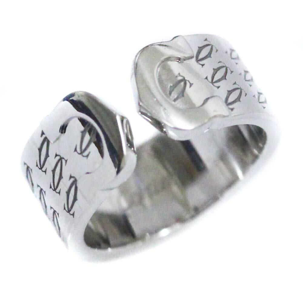 レディースジュエリー・アクセサリー, 指輪・リング CARTIER C2 2000 50 10 K18WG K18