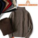 ANDERSEN-ANDERSEN アンデルセン アンデルセン タートルネック セーター 5GG ハイネック メンズ レディース