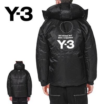 Y-3 ワイスリー リバーシブル フード付き ダウンジャケット