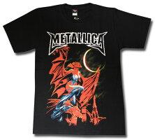 メタリカ(Metallica)Tシャツ【40%OFF】海外ライセンス製品/ロックTシャツ/バンドTシャツ/ヘヴィメタルTシャツ/激安/メンズ/レディース【メール便OK】