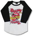 ローリングストーンズ (The Rolling Stones)ザ・ローリング・ストーンズ【ラグランTシャツ】【七分袖】【7分袖】【ストーンズtシャツ】【バンドTシャツ】【ロックTシャツ】【rock】メンズ/レディース【メール便OK】【あす楽】【売れ筋】【バーゲン】