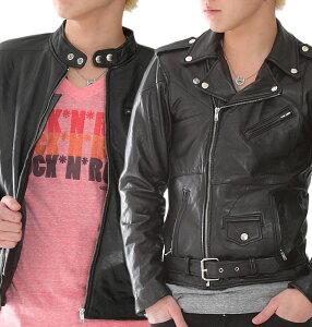 本革 ライダースジャケット ダブルライダース シングルライダース 牛革 牛皮 メンズ レディース ユニセックス レザージャケット 革ジャン 皮ジャン ジャケット ブラック 黒 ジャケット アウター ブルゾン バイク leather Rider's Jacket