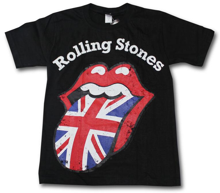 トップス, Tシャツ・カットソー  T THE ROLLING STONES BAND T-SHIRTS ROCK OK