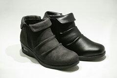 送料無料ゴールデンフット婦人靴90554Eエアーソールショートブーツ