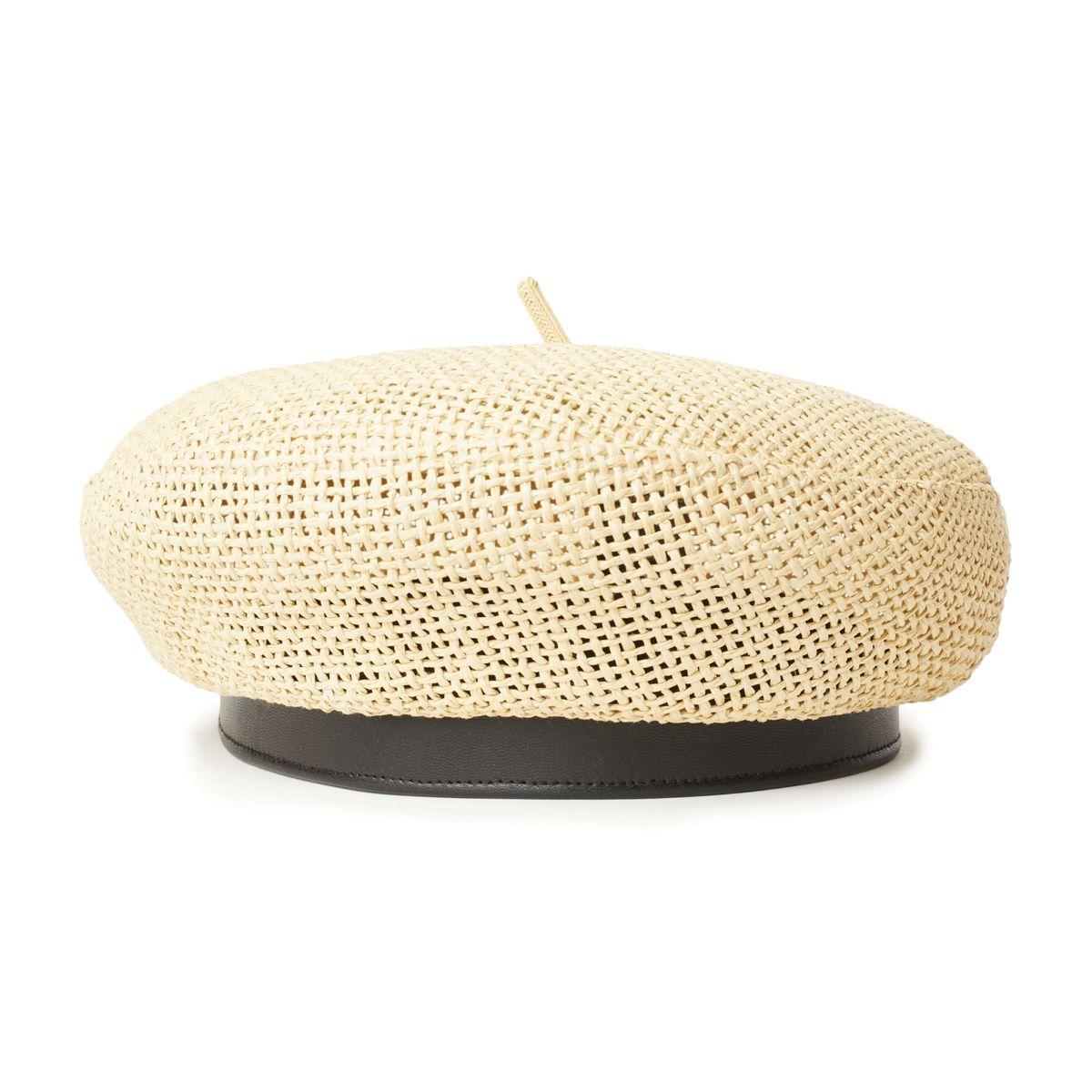 """【SALE】BRIXTONWOMENSブリクストンウィミンズ10634""""AUDREYSTRAW2BERRET""""オードリーストローベレー帽子ベレー帽TANBROWN2カラーレディース国内正規20%OFF"""
