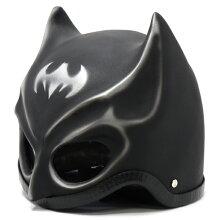 バットマン風ヘルメットツヤ有り/ツヤ消しの2種類設定あります[アメコミ][マスク][ハロウィン][イベント]