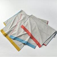 PLAINFABRICヘムカラ—パイルバスタオル
