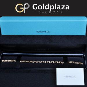 ティファニー Tiffany&Coナローチェーンブレスレット 18K/RG レディース サイズ:19.0 ミディアム【中古】